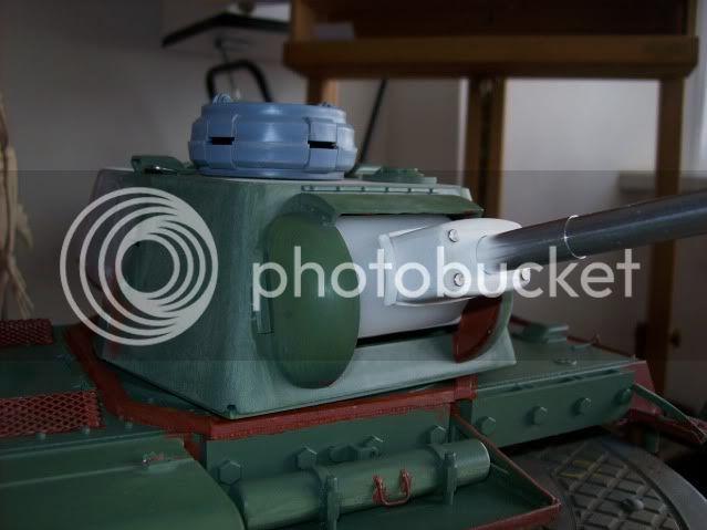 Prototipare una torretta KV1 - 1C KV11B031