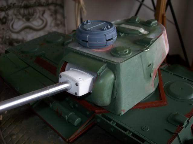 Prototipare una torretta KV1 - 1C KV11B033