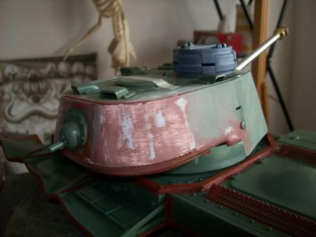 Prototipare una torretta KV1 - 1C KV11B035