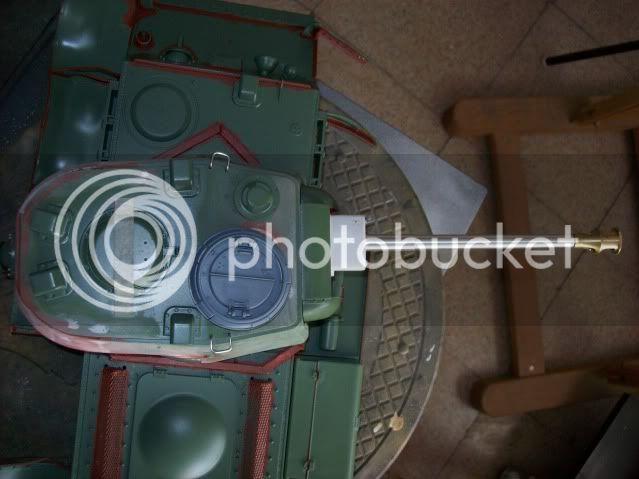Prototipare una torretta KV1 - 1C KV11B036