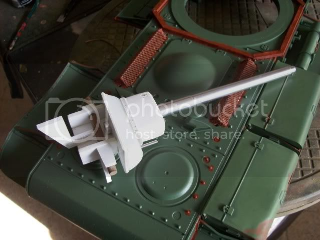 Prototipare una torretta KV1 - 1C KV11B037
