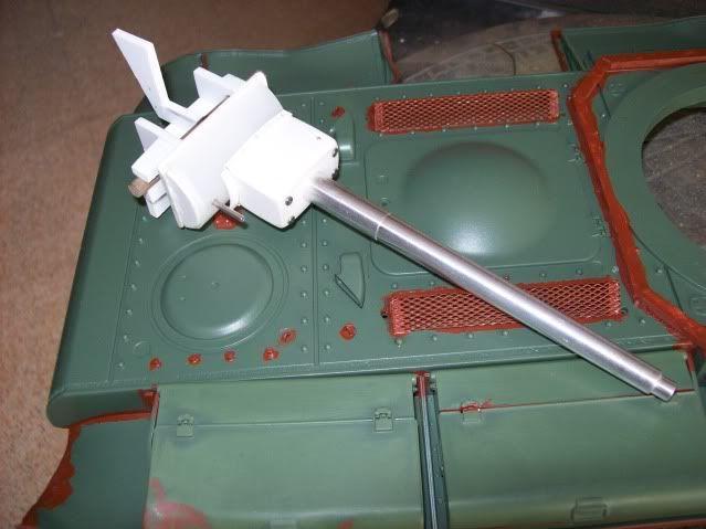 Prototipare una torretta KV1 - 1C KV11B038