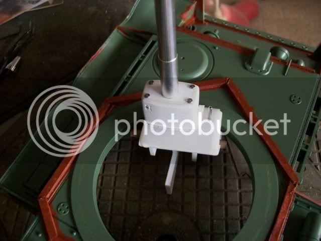 Prototipare una torretta KV1 - 1C KV11B039