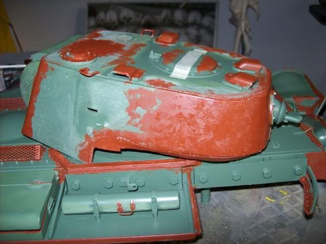 Prototipare una torretta KV1 - 1C KV11B042
