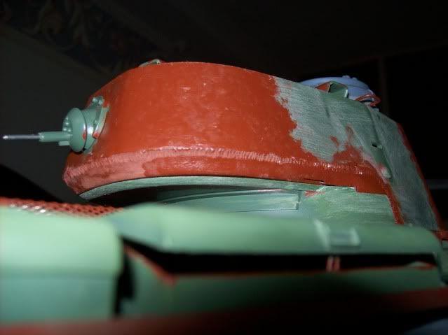 Prototipare una torretta KV1 - 1C KV11B055