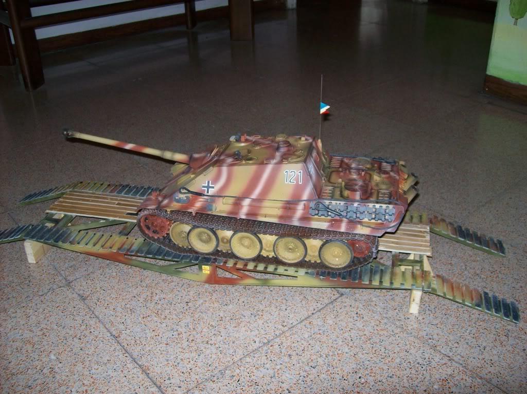 Jagdpanther ( nato nelle officine Sven?) Ponte040