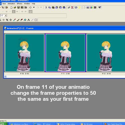 Blind Effect in animation shop Image16B