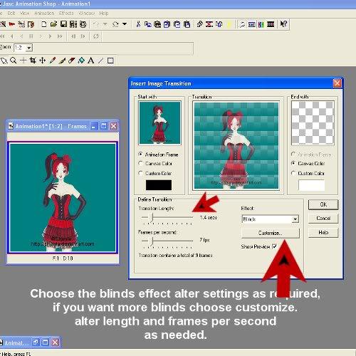 Blind Effect in animation shop Image9