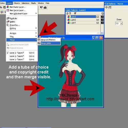 Blind Effect in animation shop Image2