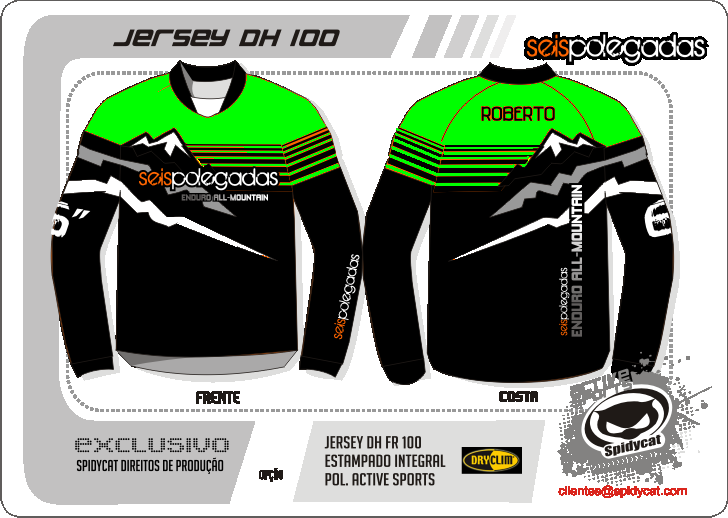 2ª Encomenda das Jerseys 6polegadas   - Página 8 Jersey6polegadasendurof-green