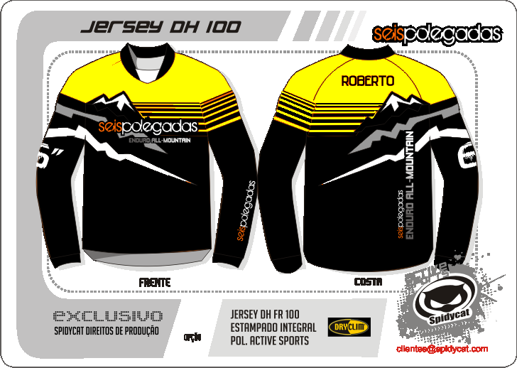 2ª Encomenda das Jerseys 6polegadas   - Página 8 Jersey6polegadasendurof-yellow