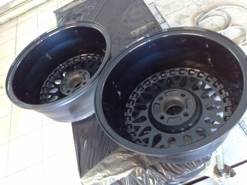 BBS Rm's sub 500 miles re-build BBSRMbaskets