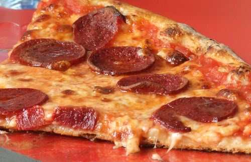 These are a few of Sugah's favorite things ... NYStylePepperoniPizza