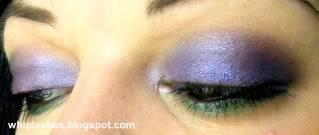 Amythest + Emerald = Fabulous FOTD June29eyes