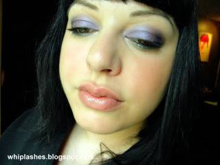 Amythest + Emerald = Fabulous FOTD June29faceeyesclosed1