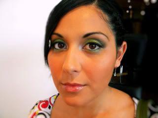 Green Eyes - A wedding look Leanneafter1