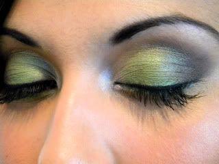 Green Eyes - A wedding look Leanneeyes2