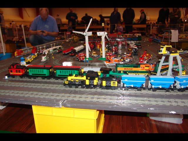 Lego Trains at my local Model Train Show Picture12117