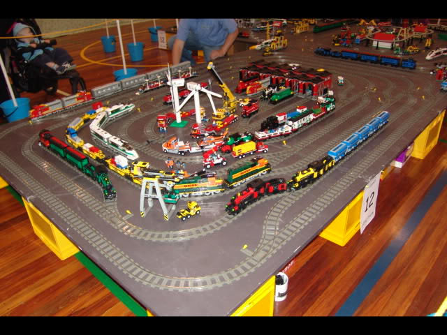 Lego Trains at my local Model Train Show Picture12119