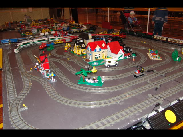 Lego Trains at my local Model Train Show Picture12120