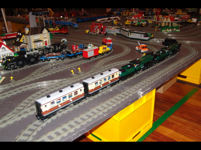 Lego Trains at my local Model Train Show Picture12121