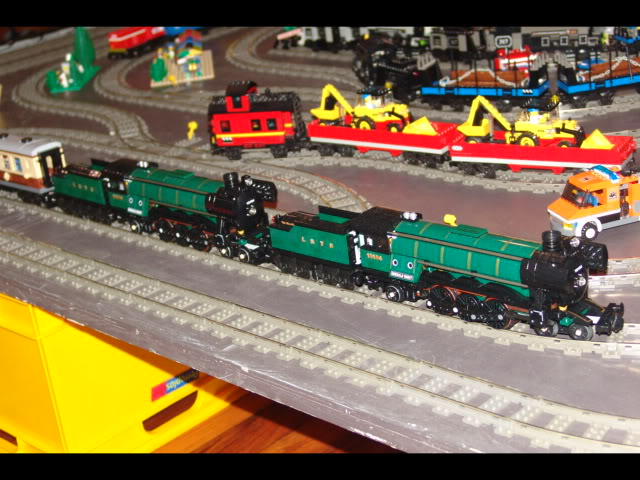 Lego Trains at my local Model Train Show Picture12122