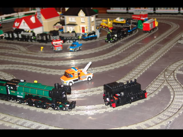 Lego Trains at my local Model Train Show Picture12123