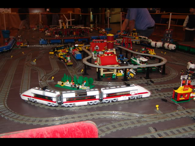 Lego Trains at my local Model Train Show Picture12124