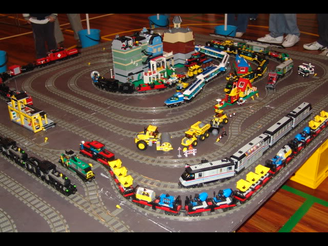 Lego Trains at my local Model Train Show Picture12125