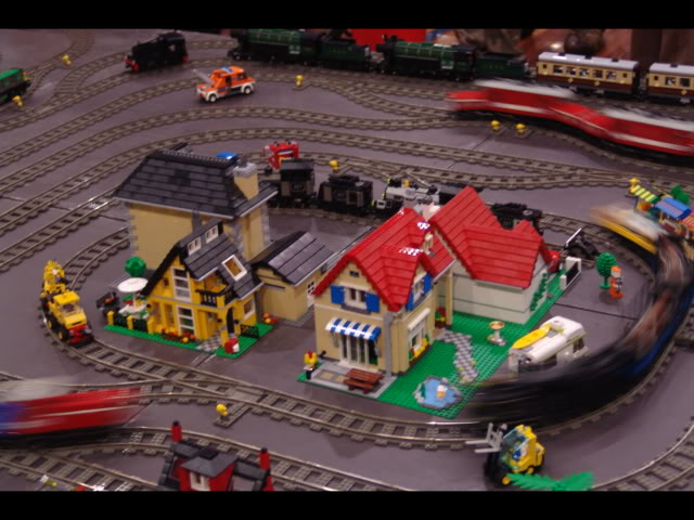 Lego Trains at my local Model Train Show Picture12145