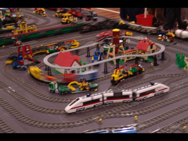 Lego Trains at my local Model Train Show Picture12146