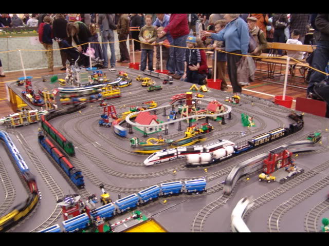 Lego Trains at my local Model Train Show Picture12147