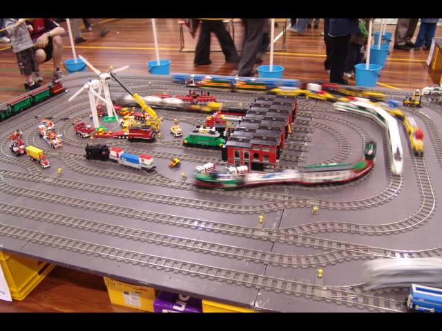 Lego Trains at my local Model Train Show Picture12148