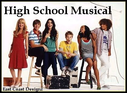 High School Musical...1, 2 and 3 squuueee!! Musical