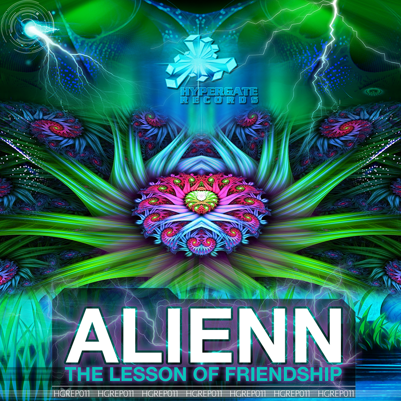 Alienn - The Lesson of Friendship (EP) - Out Now!! HGREP011_800px_zpswnibgwk4