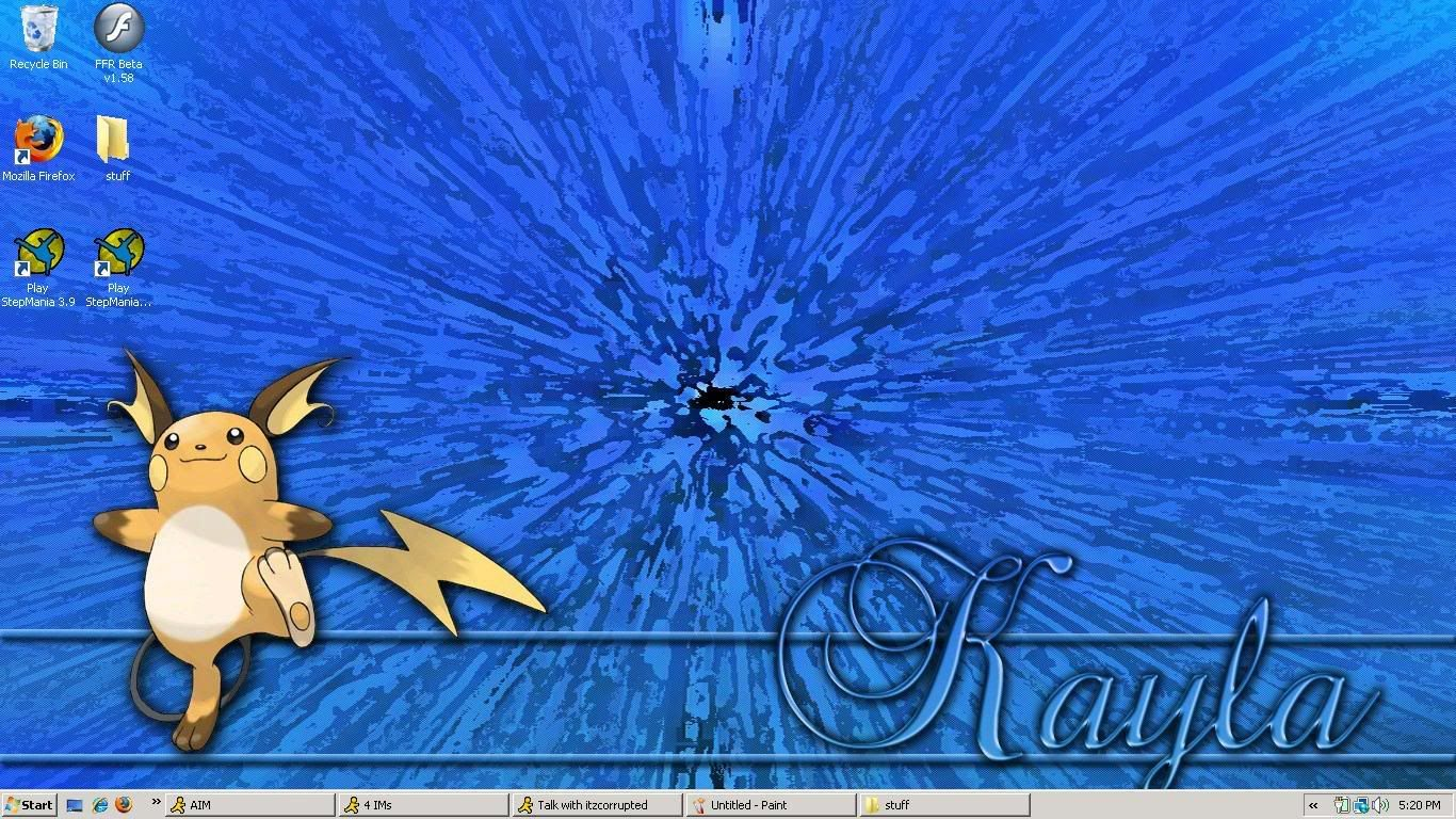 My Desktop image Bg