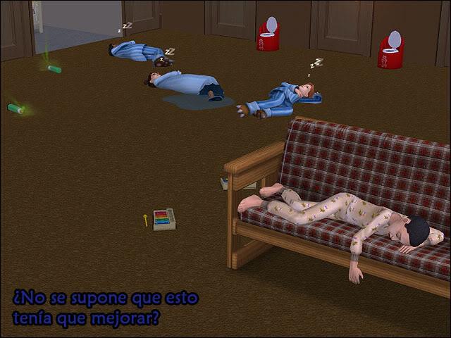 Siete Biberones de Uombat - La familia Azul: RETO TERMINADO 038