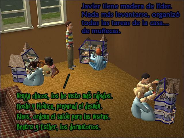 Siete Biberones de Uombat - La familia Azul: RETO TERMINADO 042