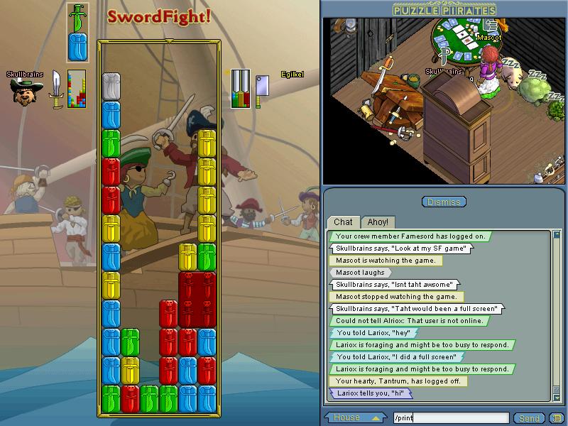 Random Screenies! PuzzlePiratesSkullbrains3