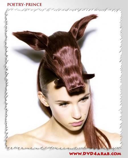 اغرب قصات شعر .. Hair86
