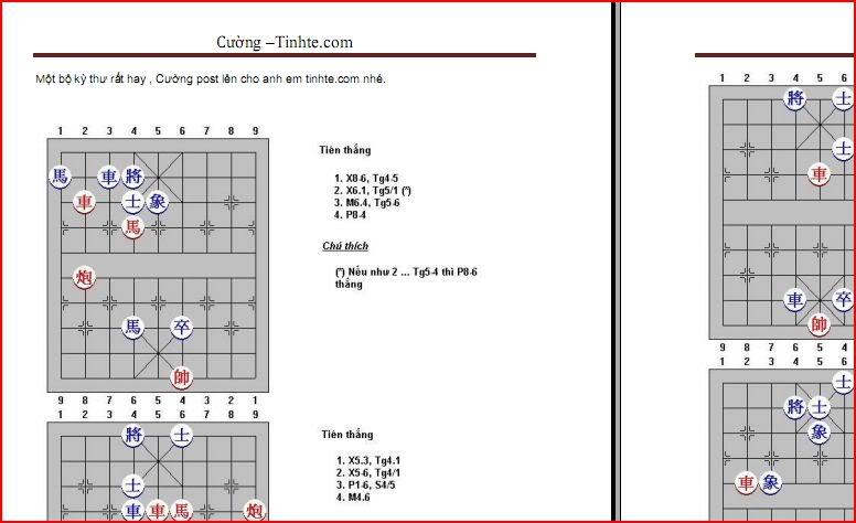 Tổng hợp 9 Ebook hay dạy cách học chơi cờ tướng Capture-21