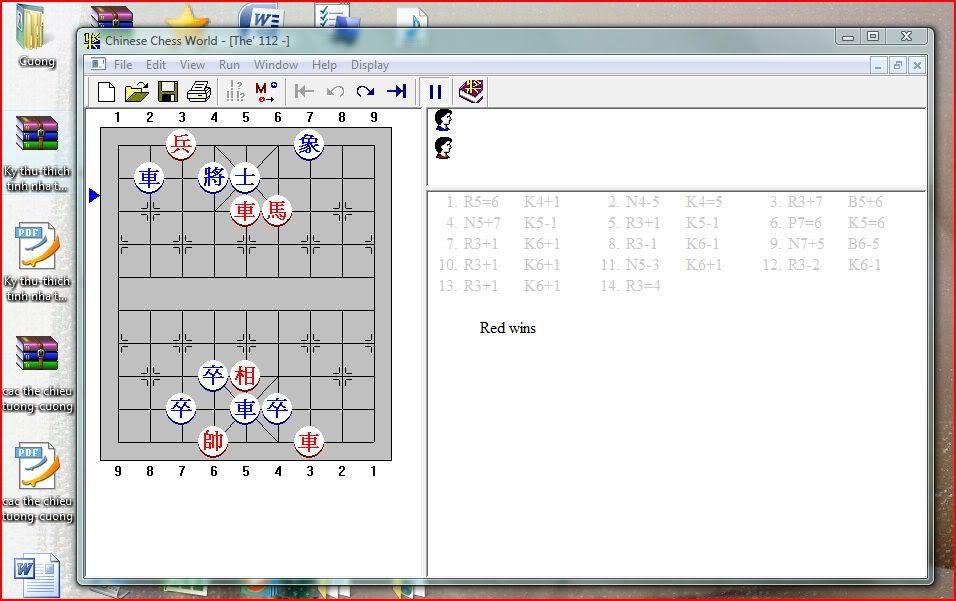 Tổng hợp 9 Ebook hay dạy cách học chơi cờ tướng Capture-22
