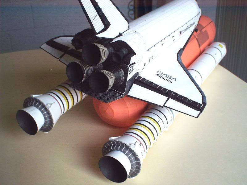 Space Shuttle Atlantis with SRB IMAG0151