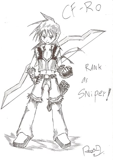 [ FANART ]  Fanart for Anime , Manga , Dojinshi , Games - Page 2 Sniper-rank