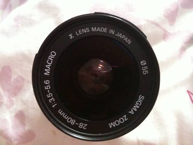 Sigma 28-80mm Aspherical 1:2 Macro Lens (Sony/Minolta fit £43)  IMG00000074