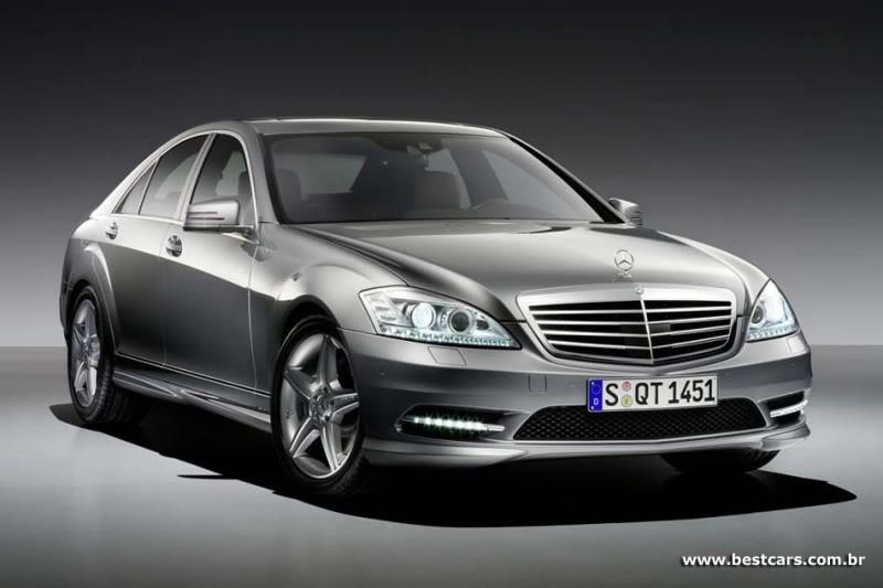 Mercedes oferece pacote esportivo AMG para sedã Classe S e cupê CL S-amg-1g