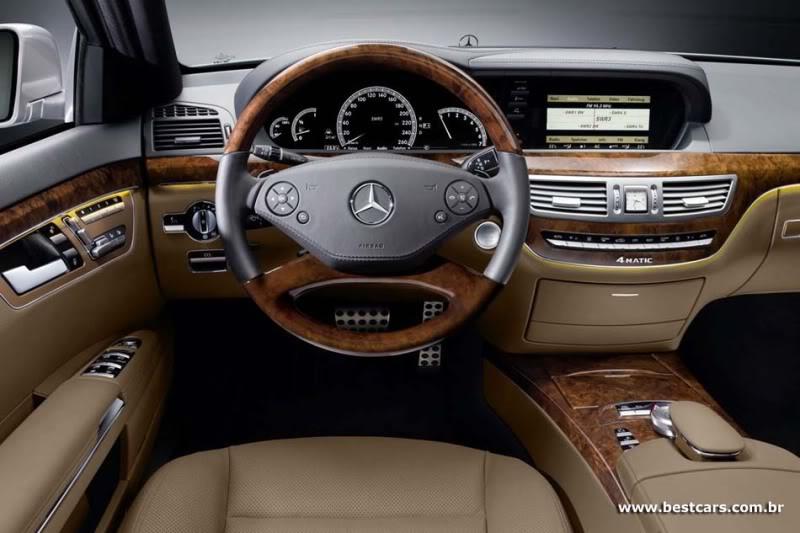 Mercedes oferece pacote esportivo AMG para sedã Classe S e cupê CL S-amg-3g
