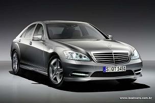 Mercedes oferece pacote esportivo AMG para sedã Classe S e cupê CL Samg