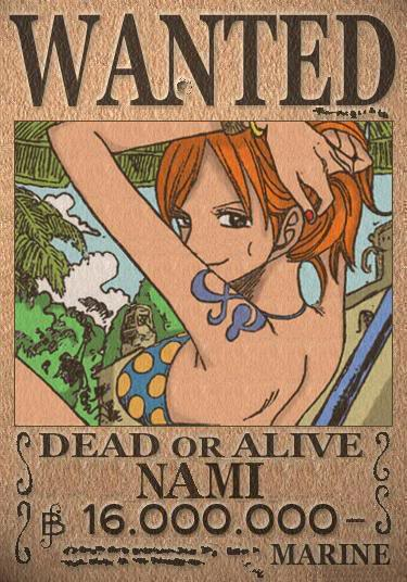 One Piece: Road to Grand Line [VxAce] + DEMO Nami_Wanted