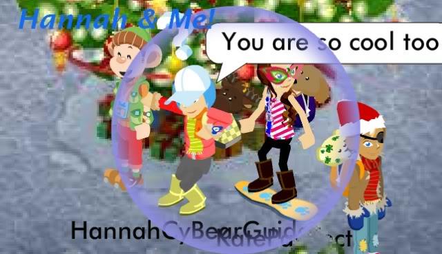 KatePawfect Meets HannahCyBearGuide! Hannahsaysimsocool